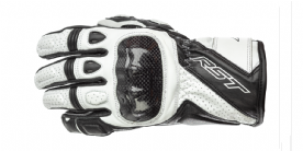 RST Stunt III CE Gloves White